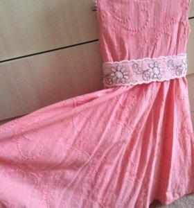 Нарядное платье в греческом стиле VDay ,5-7 лет