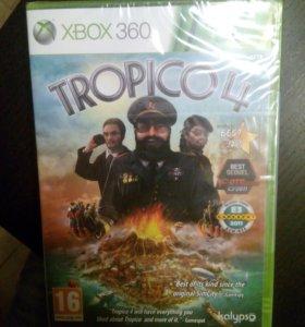 Лицензионный диск для Xbox 360 TROPICO 4