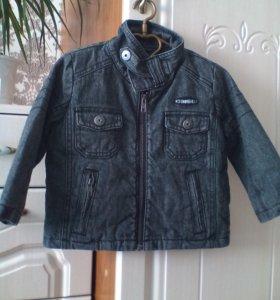 Куртка джинсовая весна-осень 92