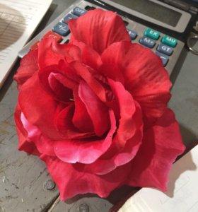 Головы искусственных роз