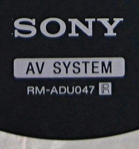 Пульт ДУ Sony Сони RM-ADU047