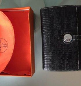 Кожаный кошелек Hermes