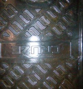 Коврик багажника Chevrolet cruze седан бу оригинал