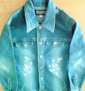 Пиджак джинсовий