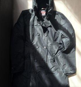 Итальянское пуховое пальто