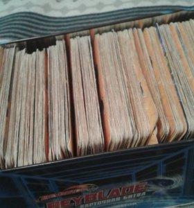 40 карточек черепашек ниндзя за 100р!