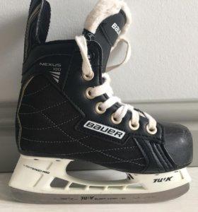 Хоккейные коньки детские р.29,5