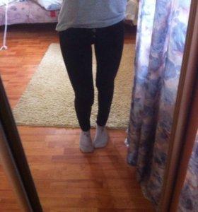 Черные штаны/джинсы