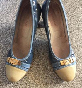 Кожаные туфли Alba