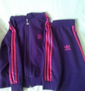 Спортивный костюм для девочки, Adidas