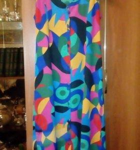 Платье-халат р.52-54