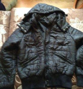 Женская тёплая куртка весна-осень