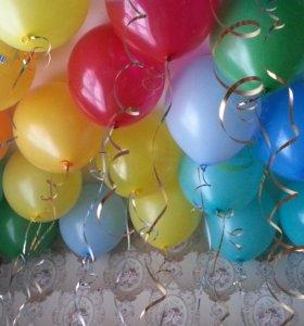 Гелиевые шары. Доставка