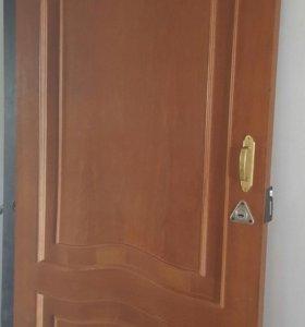 Дверь межк. из массива с коробкой