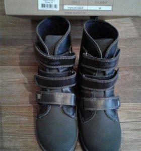 Ботинки осень новые
