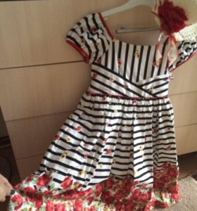 Продам платье+шляпка д/д VDay 5-7 лет