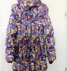 Зимняя куртка 3 в 1 для беременных и слингоношения
