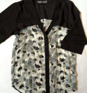 Блуза рубашка 44-46