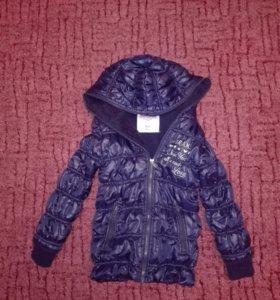 Куртка утепленная, 4-6 лет, рост 116см.