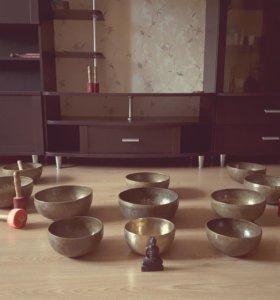 Tibetian Singing Bowls, Тибетские поющие чаши