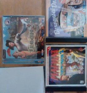 3 диска с играми для ПК