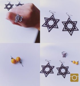 Бижутерия ( серёжки и кольцо ) )