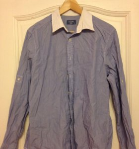 Рубашка, мужская рубашка, джинсовая рубашка