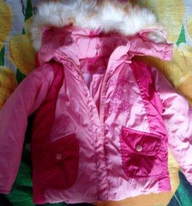 Зимняя курточка 2-3 года