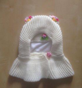 Новая шапка 44-46см