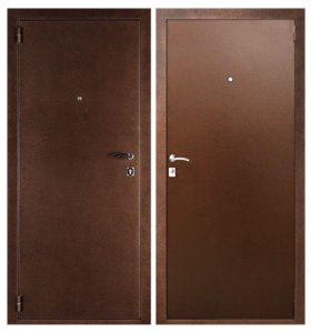 Дверь входная утеплённая размеры 86 и 96