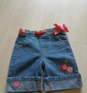 шорты на девочку