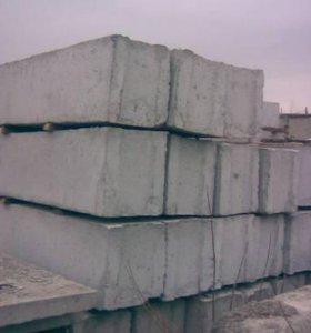 Фундаментные блоки, плиты
