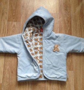 Плюшевая курточка