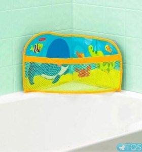 Органайзер для ванны Fisher price новый