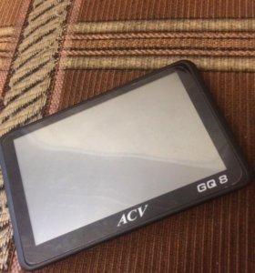 Навигатор Видеорегистратор ACV GQ8