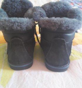Зимние ботиночки для мальчика 22 размер.