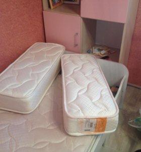 Детская кровать с шкафом