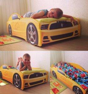 🚗 Детская кроватка Мутсанг