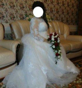 Свадебное платье р.56/60