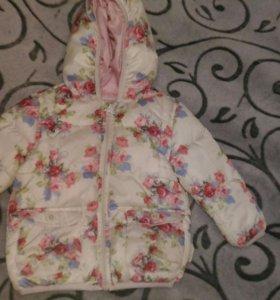 Куртка для девочки zara babi girl