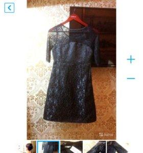 👗Christian Dior новое чёрное платье