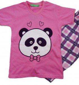 Пижама для девочек новая