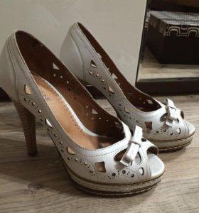 Туфли кожаные Covani