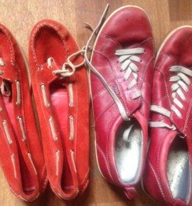 Обувь 39 размера (2 пары)