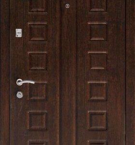 Стальная Входная дверь Люкс Венге.