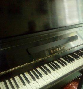 """Пианино """"Кубань"""" черное"""