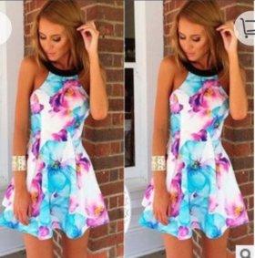 Летнее платье новое размер 42