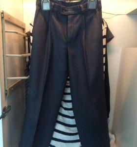 Пиджак+брюки на мальчика 7-8 лет