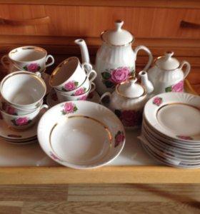 Сервиз чайный 38 предметов