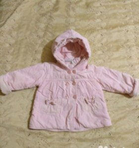 Курточка- полупальто 80-86 размер